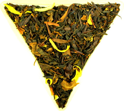 Formosa Orange Blossom Oolong Loose Leaf Tea Gently Stirred