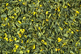 Guangxi Sweet Osmanthus Guihuacha Green Tea Gently Stirred