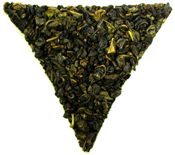 Gunpowder Vanilla Flavour Green Tea Healthy and Wonderful Fragrance Traditional Tea Gently Stirred