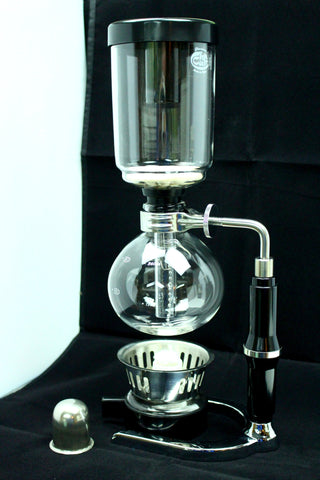 Coffee Vacuum Siphon Coffee Maker Gently Stirred