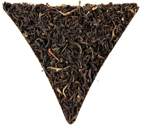 Imperial Russian Smoky Caravan Loose Leaf Black Tea Gently Stirred