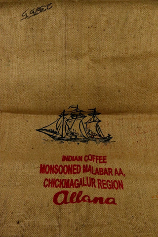 Hessian Coffee Sack From India Previously Held Green Beans Many Uses