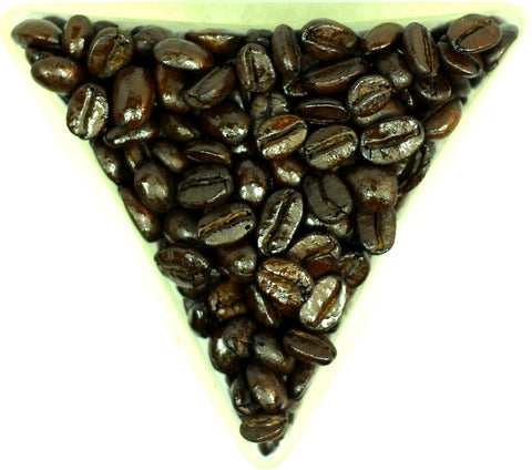 Indian Allana Tiger Stripes Espresso Blend Whole Bean Coffee Gently Stirred