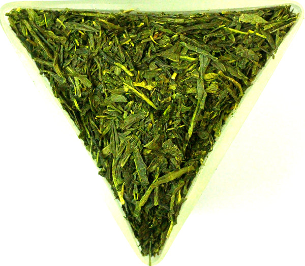 Japanese Bancha Organic Loose Leaf Healthy Green Tea Gently Stirred