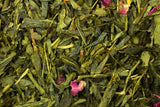 Japanese Sencha Sakura Loose Leaf Green Tea Healthy Wonderful Cherry Flavour And Aroma - Gently Stirred