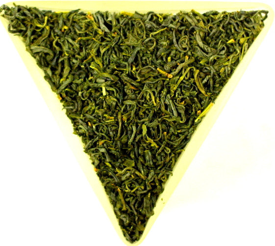 Japanese Tamaryokucha Organic Loose Leaf Healthy Green Speciality Tea Gently Stirred
