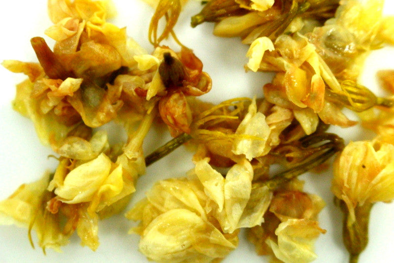 Jasmine flower tisane dried whole pure scented tea infusion tisane jasmine flower tea add to white and green teas blend your own special tea mightylinksfo