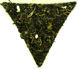 Jasmine with Flowers Loose Leaf Oolong Tea Extra Jasmine Flowers High Quality Chinese Traditional Tea Gently Stirred