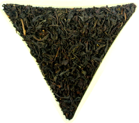 Wild Black Cherry Flavoured Loose Leaf Black Tea Gently Stirred