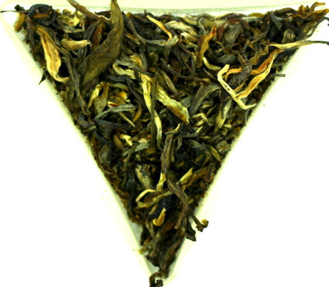 Kekecha Golden Dragon Yellow Tea Loose Leaf Traditional Chinese Tea Very Rare And Special Gently Stirred