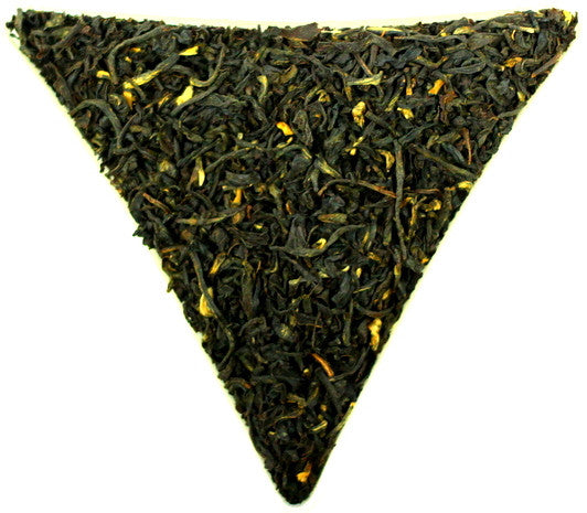 Kenya Kaproret Flowery Golden Orange Pekoe Loose Leaf Black Tea Gently Stirred