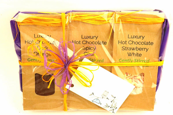 Luxury Hot Chocolate Gift Collection Powdered Pure Chocolate Sugar Perfect Gift