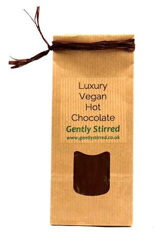 Hot Chocolate Powder Finest Vegan Gently Stirred