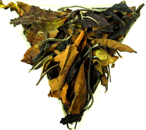 Malawi Bvumbwe Red Leaf White Peony An African Pai Mu Tan White Tea Gently Stirred