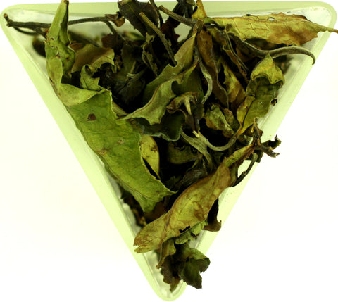 Malawi Thyolo White Peony Pai Mu Tan Tea Gently Stirred