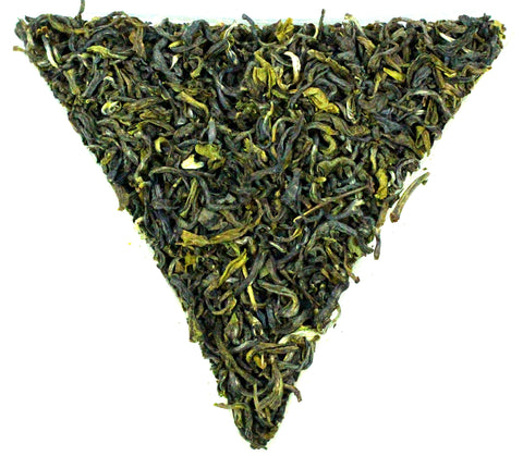 Nepal Guranse SFTGFOP Grade 1 Emerald Green Organic Loose Leaf Tea Gently Stirred