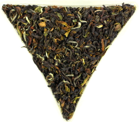 Nepal Jun Chiyabari BP Souchong Organic Loose Leaf Black Tea Excellent Quality Strong Gently Stirred