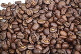 Nicaragua Superior Maragogype Giant Las Nubes Rainforest Alliance Coffee Gently Stirred