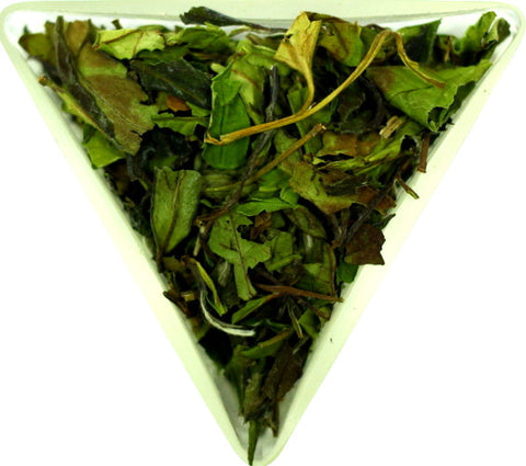 Pai Mu Tan White Tea Organic Certified Loose Leaf White Peony Green Tea One Of The Healthiest Teas In The World Gently Stirred