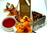 Passion Fruit And Orange - Fruit Infusion - Hot Or Cold Infusion - Wonderful - Gently Stirred