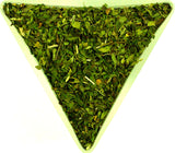 Peppermint Leaf Tea Herbal Infusion Gently Stirred