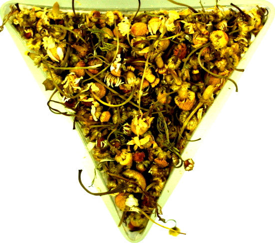 Chamomile Flower Tea Immune Support Relaxation Abdominal Pain Nervousness Gently Stirred