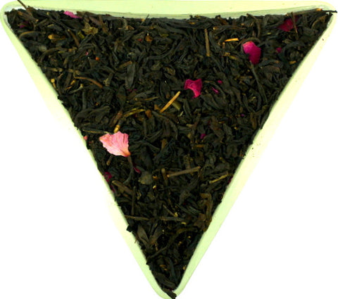 Rose Pouchong Black Loose Leaf Tea Traditional Chinese Rose Flavoured Rose Congou Gently Stirred
