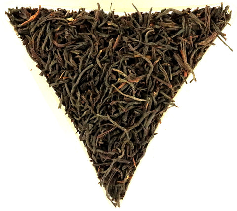 Rwanda Rukeri Plantation Orange Pekoe Black Organic Fair Trade Loose Leaf Tea Gently Stirred