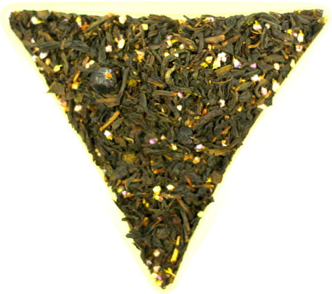 Scottish Moorland Loose Leaf Tea Blackcurrant Flavour Gently Stirred