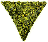 Sencha Japanese Wild Cherry Loose Leaf Tea Gently Stirred