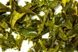 Sencha Japanese Wild Cherry Tea Gently Stirred
