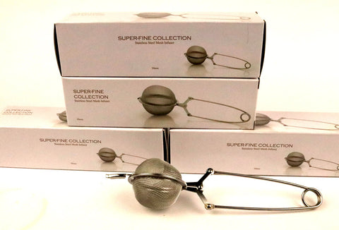 Stainless Steel Tea Ball Reusable Tea Bag Gently Stirred
