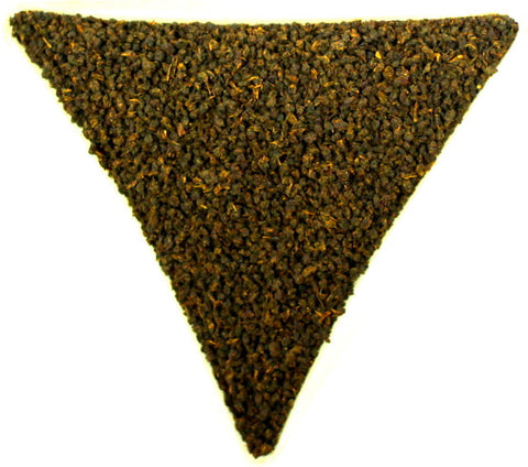 Tanzanian Broken Orange Peakoe Loose Leaf Black Tea Gently Stirred