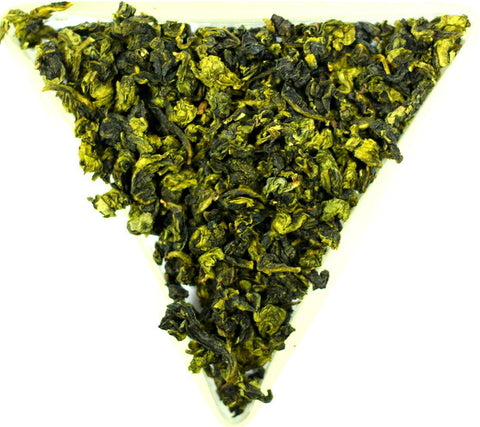 Ti Kuan Yin Oolong Organic Anxi Mountain Tea Gently Stirred
