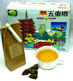 Yunnan Golden Pagoda Organic Hand Tied Tea Gently Stirred