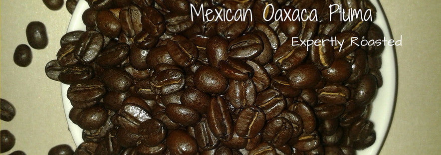 Mexican Oaxaca whole roasted coffee beans