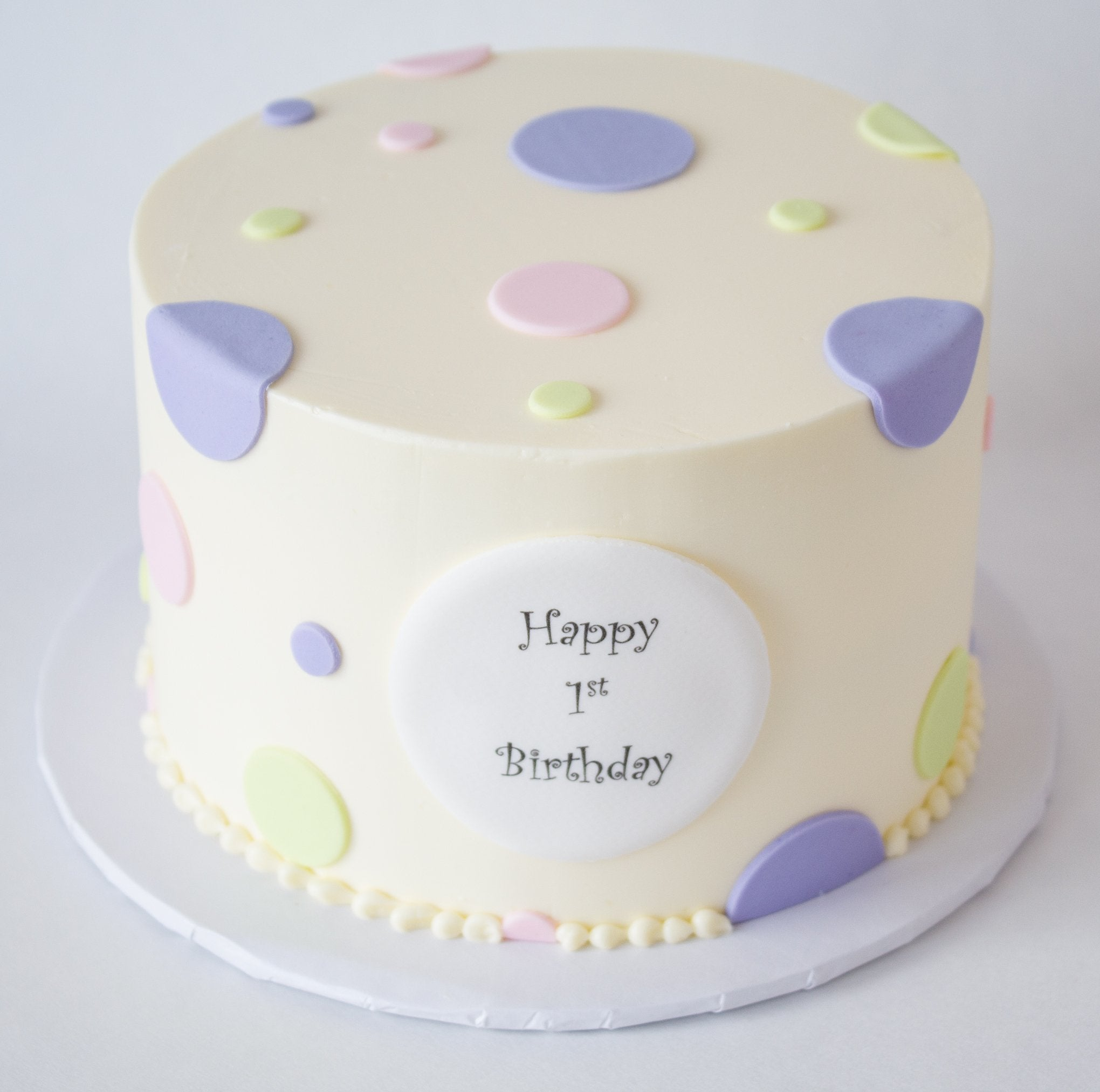 Incredible Polka Dot Cake Cake Royale Delicious Cakes And Desserts Funny Birthday Cards Online Fluifree Goldxyz