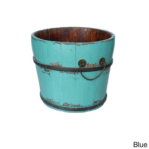 Annabelle Home Cyan Vintage Buckets - Multiple Colors