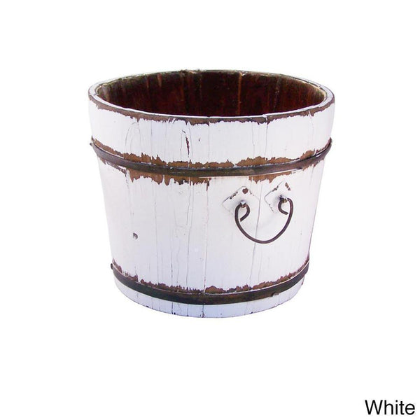 Annabelle Home White Vintage Buckets - Multiple Colors