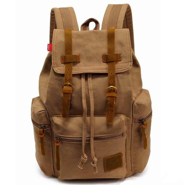 Artisanal Bags BurlyWood Canvas Backpack - Multiple Colors