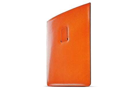 Artisanal Bags Orange Red Leather iPad Sleeve - Multiple Colors