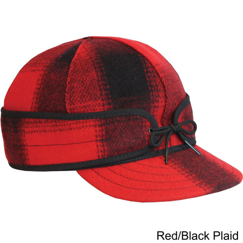 Artisanal Bags Red Retro Wool Cap - Multiple Colors