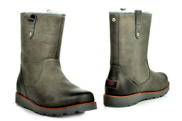 Bootland Boots 5 / Gray Warm Grip Sole Boots 2 Colors