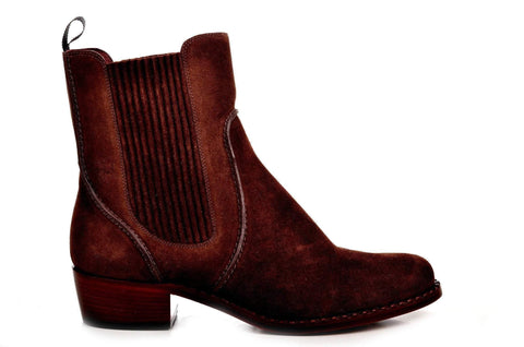 Bootland Boots Velour Booties