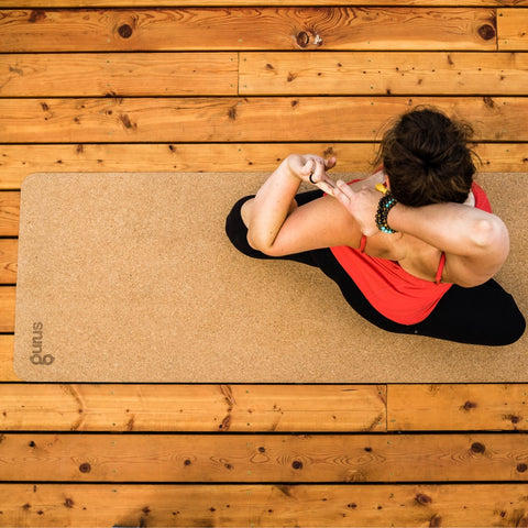 Gurus All Natural Cork Roots Yoga Mat