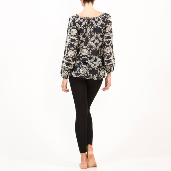Butterfly Silk Cancun Top
