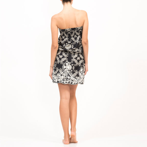 Goddess Short Dress BUTTERFLY