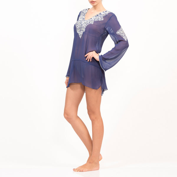 Raglan Silk Taj Top