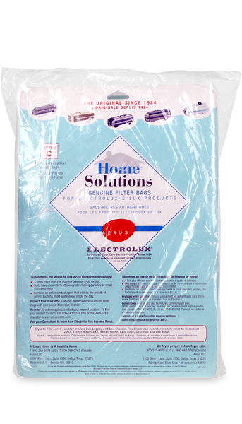 Aerus And Electrolux Style C Home Solutions Genuine Filter