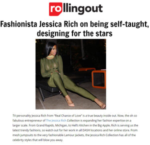 OWNER JESSICA RICH FEAURED IN ROLLING OUT MAGAZINE